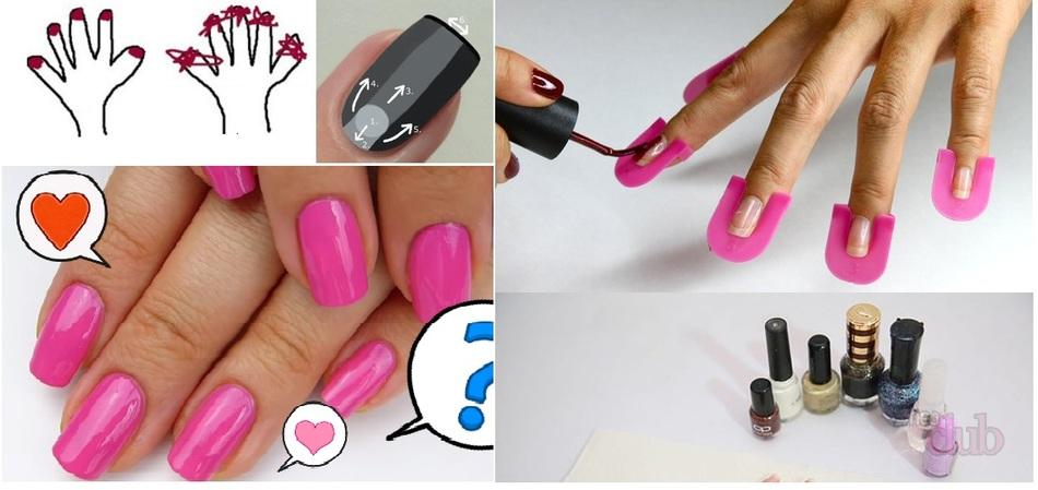Как сделать самой себе ногти гель лаком 496