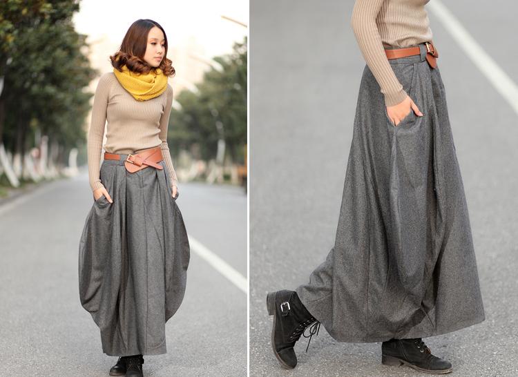 Сшить длинные юбки модели 1