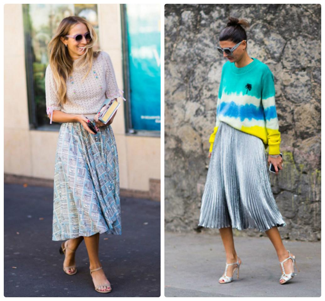 Мода Юбки Весна 2018