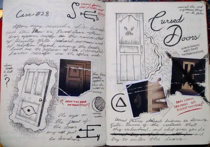 Как сделать своими руками дневник диппера