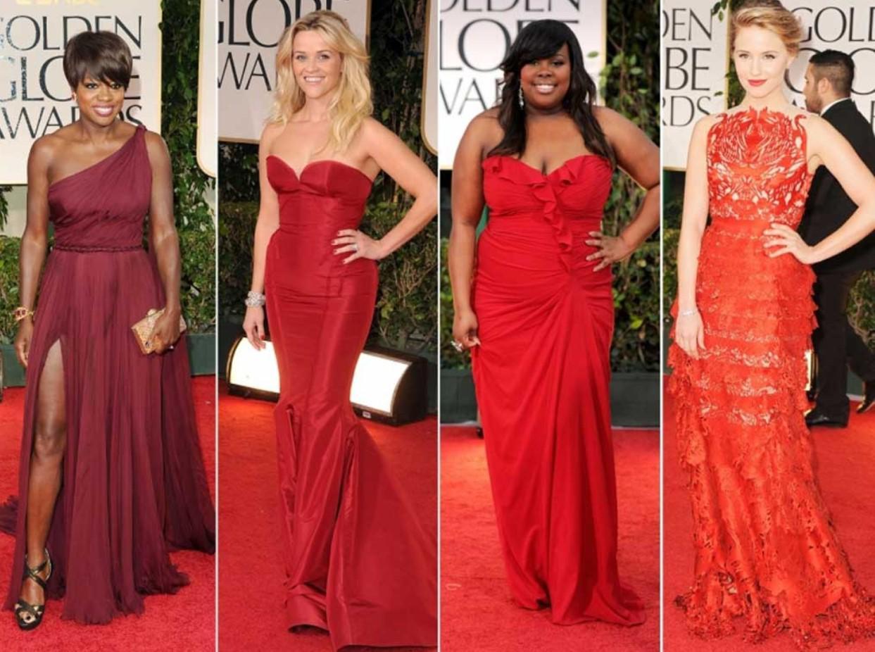 Kleines rotes Kleid mit einem Ärmel. Rotes Kleid von mittlerer Länge ...
