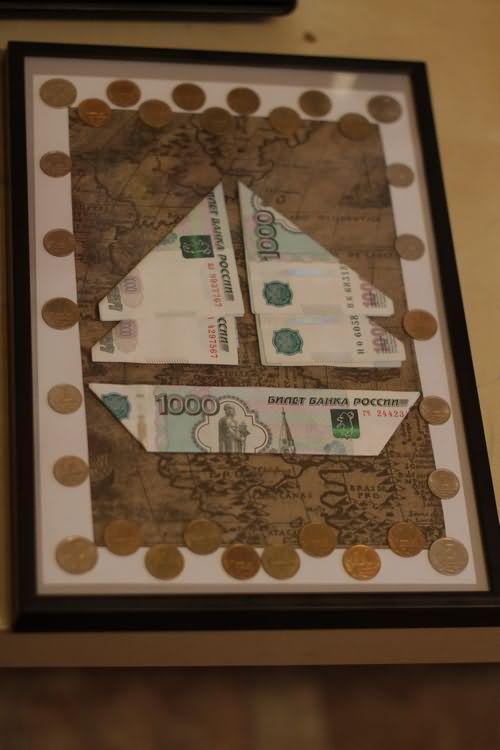 Подарок деньги в картине 82